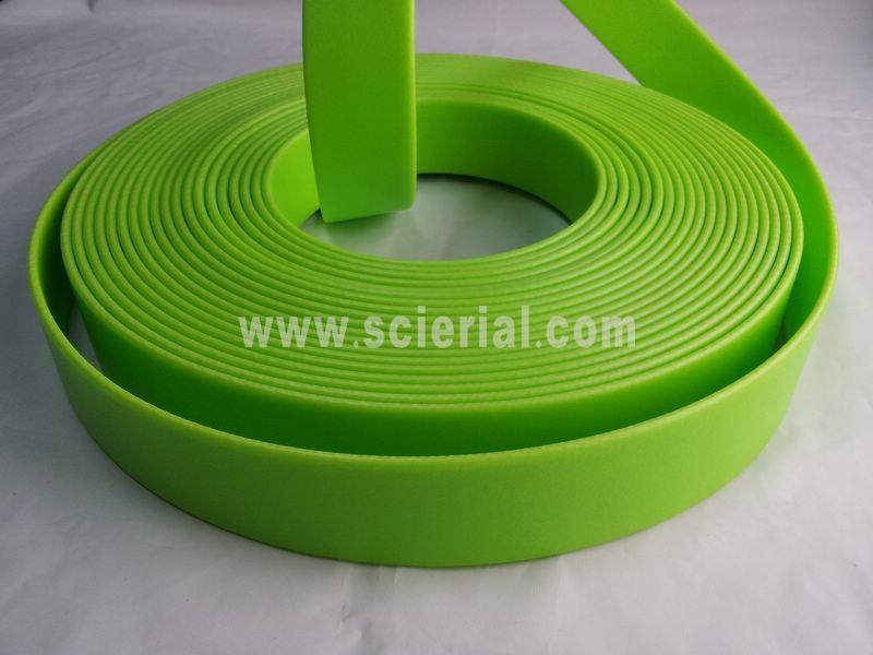 Embossing Pvc Coated Nylon Webbing Pvc Plastic Coated