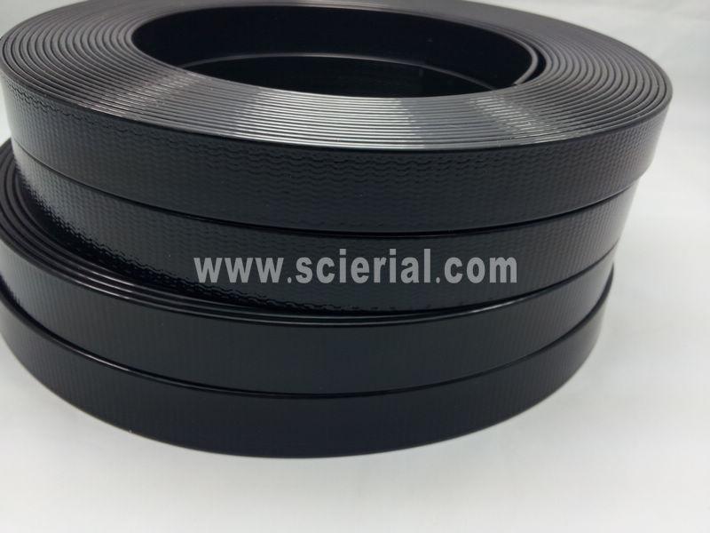 Plastic Coated Webbing 16mm Wide Coated Webbing For Helmet