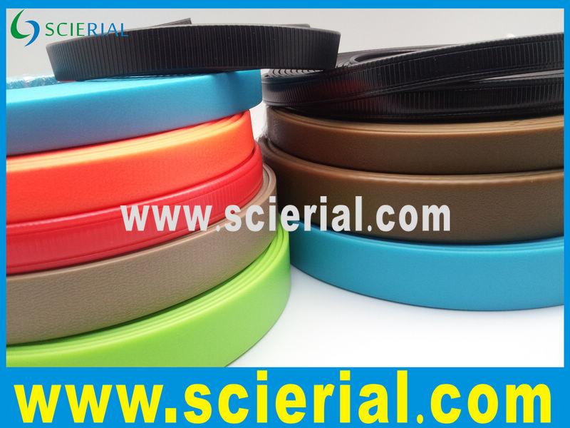 cinta recubierta: correas recubierto de PVC