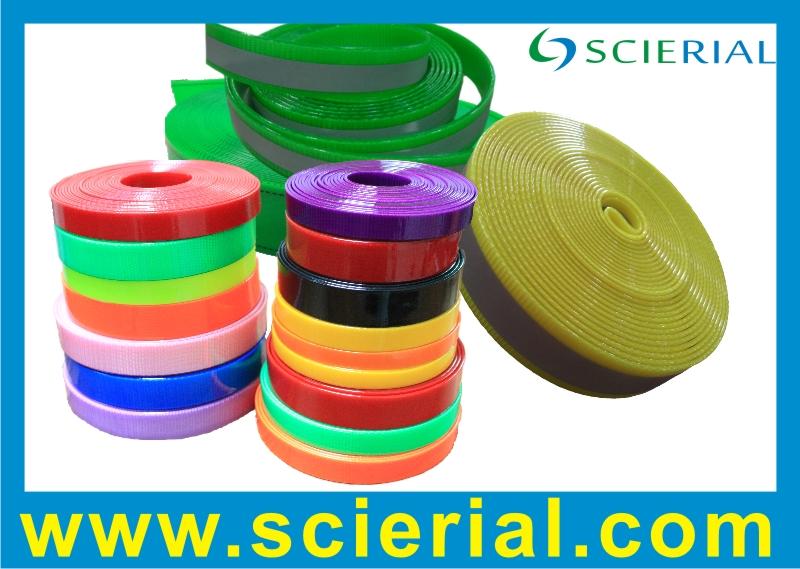 polyester-based TPU coated webbing | polyurethane coated webbing